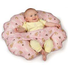 Leachco Cuddle-U Original Nursing Pillow & More - Pink Bears | BabiesRUs