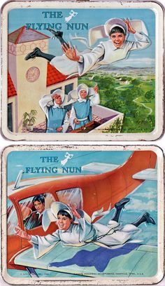 The Flying Nun (1967-70, ABC) starring Sally Field as 'Sister Bertrille' — 1968 Lunch Boxes