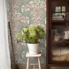 Anno-arkiv - Norrlandsfärg Swedish Cottage, Signs, Ladder Decor, Planter Pots, Mirror, Plants, Diy, Home Decor, Terrace