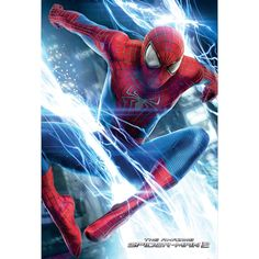 1 Wall Easy-Hang Wallpaper Mural Amazing Spiderman 2 Movie 1.58m X 5.32m