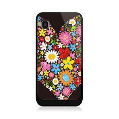 Flowers In Heart Samsung Galaxy S Case