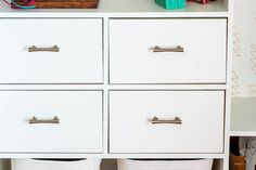 This easy DIY closet organizer is a great weekend project and a great way to make custom closets out of a builder grade closet