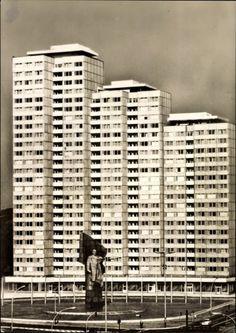 Berlin DDR 1972 am Leninplatz