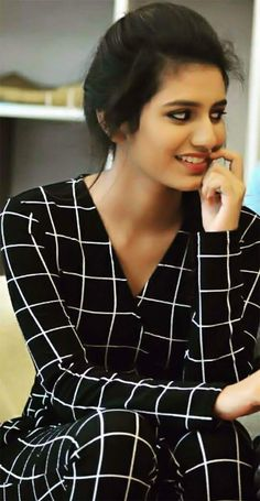 Priya prakash varrier latest picture in black suit South Actress, South Indian Actress, Most Beautiful Indian Actress, Beautiful Actresses, Beautiful Ladies, Simply Beautiful, Hot Actresses, Indian Actresses, Actress Priya
