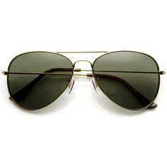 Original Classic Metal Military Aviator Sunglasses 1041 58mm ($11) ❤ liked on Polyvore featuring accessories, eyewear, sunglasses, aviator glasses, metal aviator sunglasses, aviator style sunglasses, metal glasses and military aviators