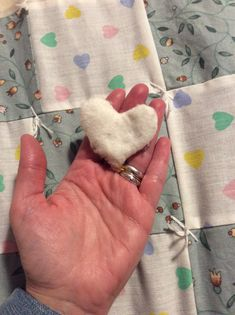 Heart and Soul ❤️💜 I love my husband with all my heart and soul. This little stitched heart that holds our DNA and the quilt on our bed under which we lay. Bound by magic and love that cannot be taken away.