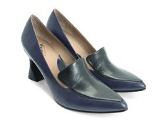 Davis (Blue & Black) John Fluevog They wouldn't be same without the colour blocking!