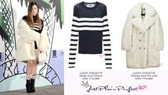 Just Plain Perfect: SNSD Tiffany Hwang at Lucky Chouette 2016 S/S Coll... Snsd Tiffany, Tiffany Hwang, Winter Collection, Fur Coat, How To Wear, Jackets, Clothes, Fashion, Owls