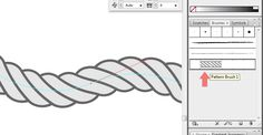 Awesome, simple tutorial for creating vector rope in Illustrator
