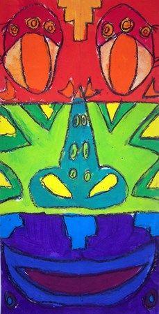 Leah1355's art on ArtsoniaHenderson Elementary School Grade 3 Color Wheel Paintings.
