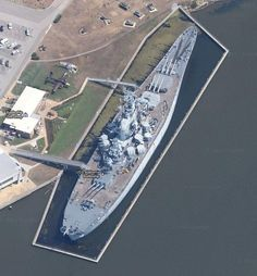 Name: USS Alabama Battleship Lat, Long: 30.681649,-88.014586 Location: Mobile, Alabama, USA