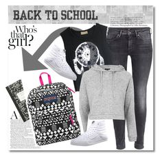 """back to school"" by vkmd ❤ liked on Polyvore"