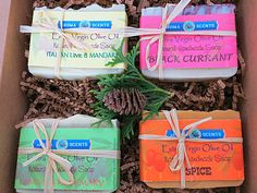 Soap Gift Set  Handmade Gift Sets  Soap Sets  by AromaScentsLLC