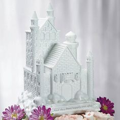 Fairy Tale Dreams Castle Wedding Cake Topper | Bridal Everything