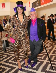 Darryn Lyons Quirky Fashion, Fashion Art, Spring Racing Carnival, Melbourne Cup, Wearable Art, Style Inspiration, Celebrities, Pictures, Vintage