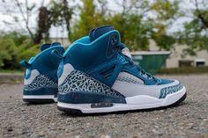 best loved f8883 d2354 Nike Air Jordan SPIZIKE 317321 407 Hi-Top Trainers Sneakers UK 6 EUR 40 CM  25. TOMO · JORDAN BASKETBALL
