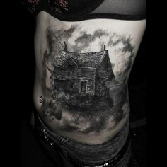 Really Cool Tattoos | House Tattoo, Really Cool! | Tattoo Ranking