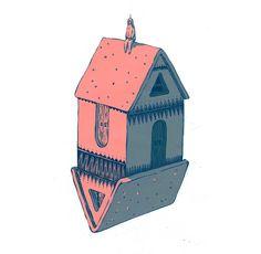 little house+little guy on Behance