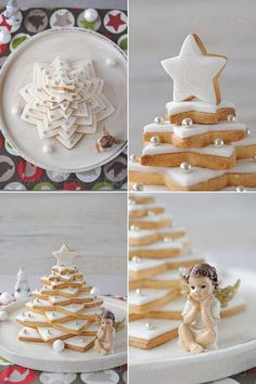 Sapin à dévorer Christmas Cookies Gift, Christmas Sweets, Christmas Design, Christmas Tree, Biscuit Coco, Cake Mix Cobbler, Disney Frozen Birthday, Christmas Entertaining, Xmas Food