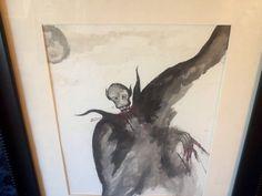 Nosferatu Original Watercolor by DecrepitudeAplenty on Etsy, $75.00