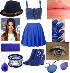 """Blue"" by xiadaniortega ❤ liked on Polyvore"