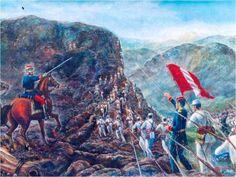La Guerra con Chile o del Pacífico fue un conflicto armado en el cual se enfrentaron los países de Perú, Chile y Bolivia. Bolivia, Chile, Napoleon, Army, Nature, Painting, American, Inca Empire, War Of The Pacific