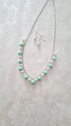 Mint necklace statement necklaces for women white pearl necklace silver simple necklace wedding Jewelry gifts for women green necklace Mint Necklace, White Pearl Necklace, Simple Necklace, Wedding Jewelry Simple, Wedding Jewellery Gifts, Jewelry Gifts, Cool Necklaces, Statement Necklaces, Silver Necklaces