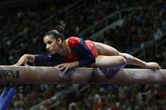 """Aly Raisman has performed her """"Hava Nagila"""" floor routine for about a year—and now it has helped Team USA take home the Gold. (Photo credit: Heather Maynez)"""