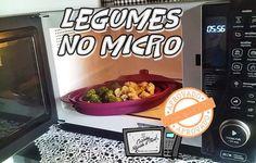 Como cozinhar legumes no Microondas!!