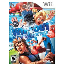Wipeout: The Game for Nintendo Wii look at the punch he's taking. look seriecly.