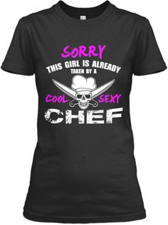Cool sexy chef!