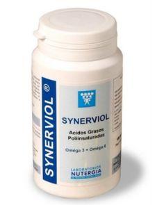 Synerviol de Nutergiason Ácidos grasos poliinsaturados esenciales Omega 3 y 6, acidos grasos de gran actividad, combinando los aceites de pescado con la actividad de la borraja, elemento que se ha convertido en indispensable