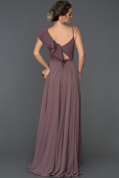 Lavanta Şifon Uzun Abiye Elbise ABU099 | Abiyefon.com Bridesmaid Dresses, Wedding Dresses, The Dress, Bellisima, Satin, Clothes, Beauty, Iphone, Fashion