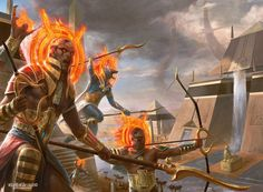 Pursue Glory - Amonkhet MtG Art