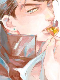 Collection of Josuke by Suzuki Tsuta (蔦) This kid teases too much Adventure Tumblr, Jojo's Adventure, Jojo's Bizarre Adventure, Blue Exorcist, Anime Manga, Anime Art, Johnny Joestar, Inu Yasha, Fanart