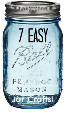 7 easy crafts with mason jars! I need to find a sepia or b pic for the oil one!