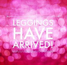 So excited when my leggings arrive!