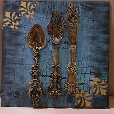 Frame Crafts, Diy Frame, Cutlery Art, Arte Country, Wood Resin, Vintage Pictures, Vintage Wood, Resin Jewelry, Shabby Chic Decor