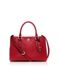 ROBINSON MINI DOUBLE-ZIP TOTE - KIR ROYALE