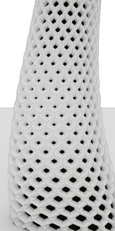 Hexagon on a closed surface - Grasshopper Product Design 3d Pattern, Surface Pattern, Surface Design, Pattern Design, Parametric Architecture, Parametric Design, Dynamic Architecture, Architecture Diagrams, Architecture Portfolio