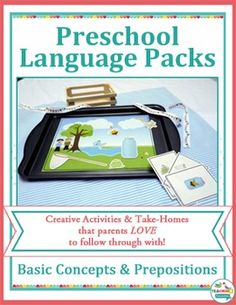 This pack contains activities to target the prepositions / in / on / under / big / small / and following multi-step directions.