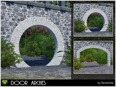 Door arches by Severinka - Sims 3 Downloads CC Caboodle