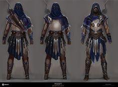 ArtStation - Hero of Athens, Gabriel Blain Rogue Assassin, Assassins Creed Art, Assassins Creed Odyssey, Fantasy Character Design, Character Concept, Character Art, Concept Art, Character Reference, Character Ideas