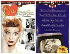I Love Lucy Collector Series 5 Pack VHS Movies Lucymania Classic Comedy watch Comedy Tv Shows, Comedy Movies, Michael Mosley, The Andy Griffith Show, Love Me Better, Heather Morris, Classic Comedies, Vhs Movie, How To Influence People