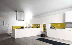 Cuisine: couleurs fétiches - blanc-noir-gris-jaune... <3
