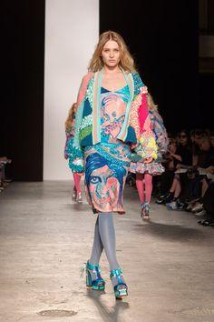 Roberta Einer Westminster BA Fashion Designers Show 2015
