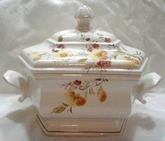 Italian Tureens | Bassano Vintage Soup Tureen/Serving Bowl-Made in Italy Tureens - 63536
