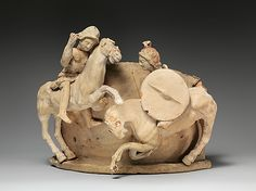 ❤ - Terracotta relief probably from a funnel vase  Early hellenistic period,late 4th BC  Greek,South Italian Apulian  Metropolitan Museum