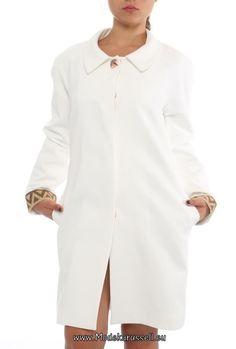 Damen Trenchcoat Malin in Weiß