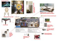 Our Process Mahjong Table, Floor Plans, The Incredibles, Pillows, Rugs, Interior, Wall, Artwork, Pattern
